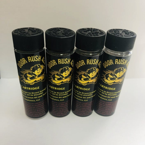 Door Rush 420 Four 1 Gram Cartridges for $100
