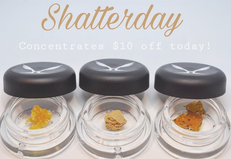 Hillside Natural Wellness Shatterday