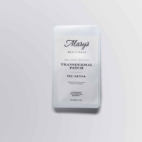 Mary's Medicinal 20mg Trans-dermal Patch Sativa