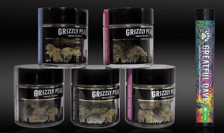Golden State Canna Buy Grizzly Peak 3.5g get $.01 J