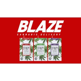 BLAZE STIIIZY HALF GRAM PODS FOR $25