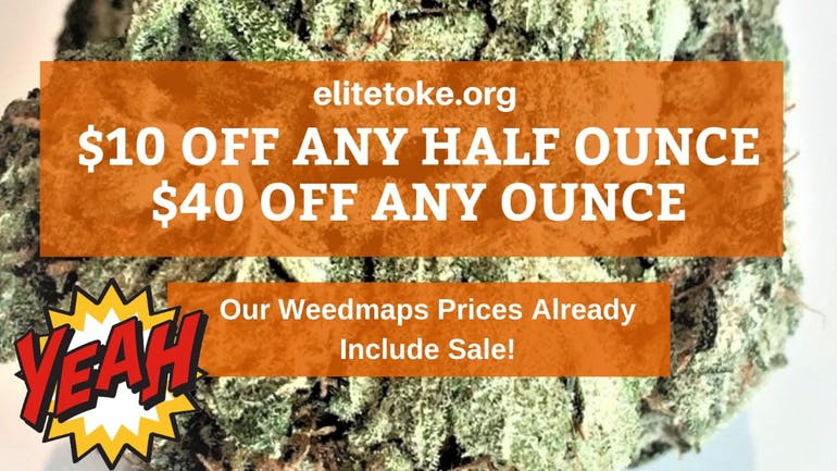 Elite Toke OUR PRICES ALREADY INCLUDE SALE❗
