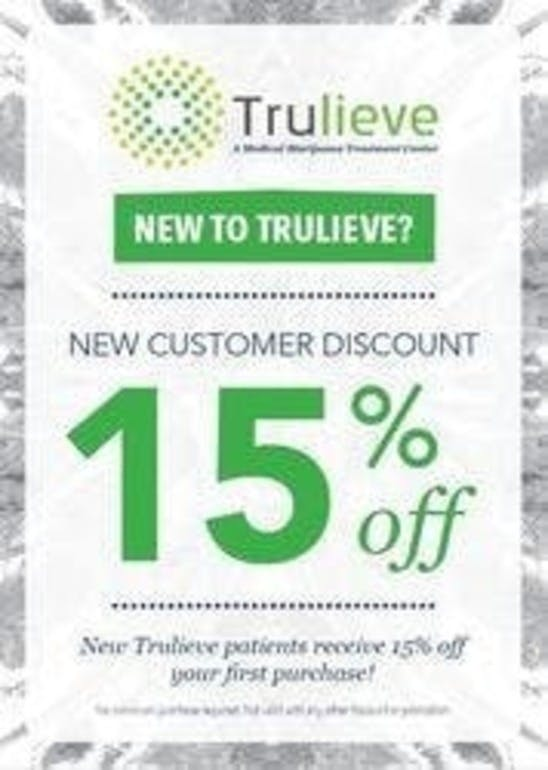 Trulieve - Kendall 15% Off New Patient Discount