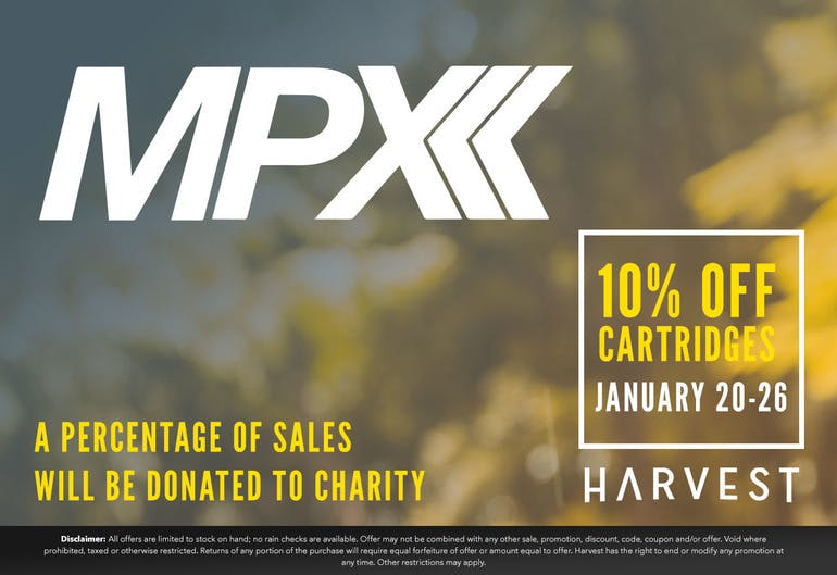 Harvest of Rockville MPX SALE 10% OFF