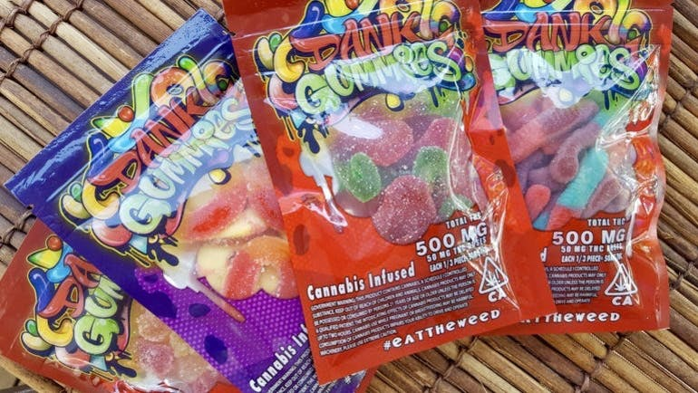 Down To Deliver 2-500mg Gummies for $40!