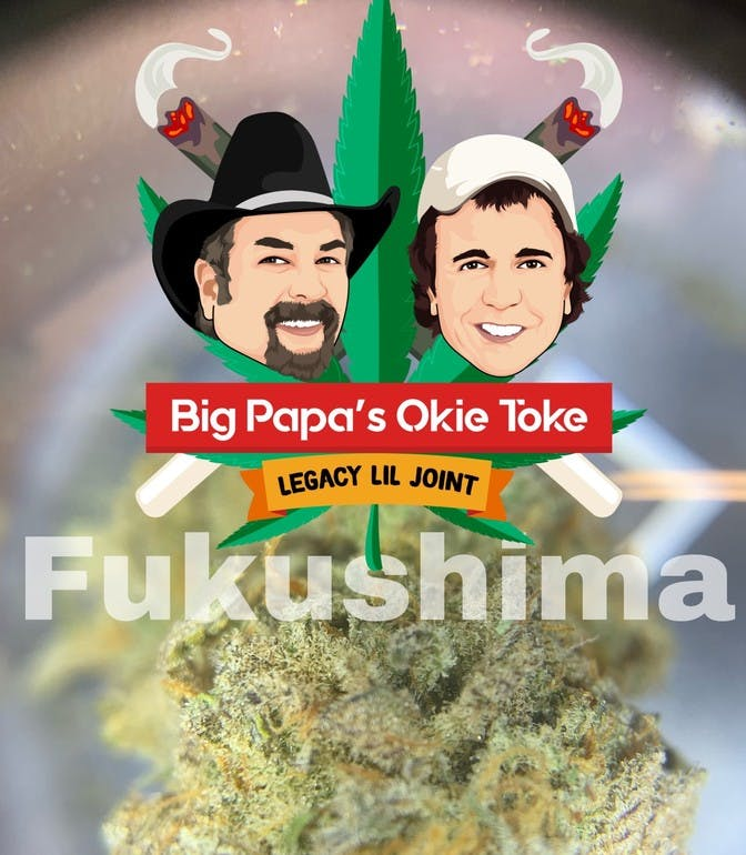 Big Papa's Okie Toke 2 GRAMS FOR $25 tax included