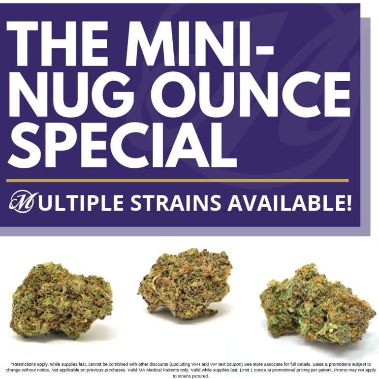 Mayflower Medicinals Mini-Nug Ounce Special