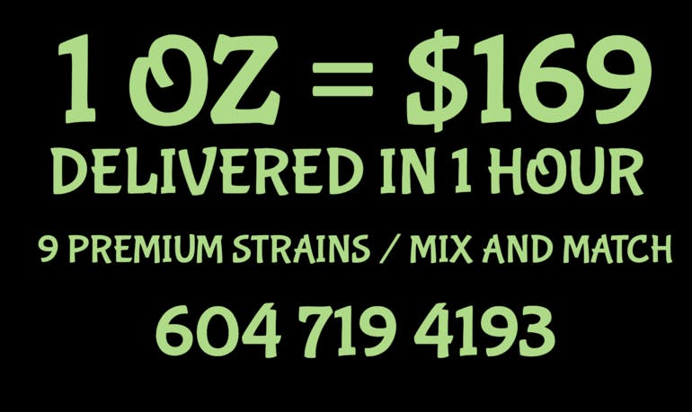 Weed Rush Delivery 1 OZ = $169 DELIVERED IN 1 HOUR