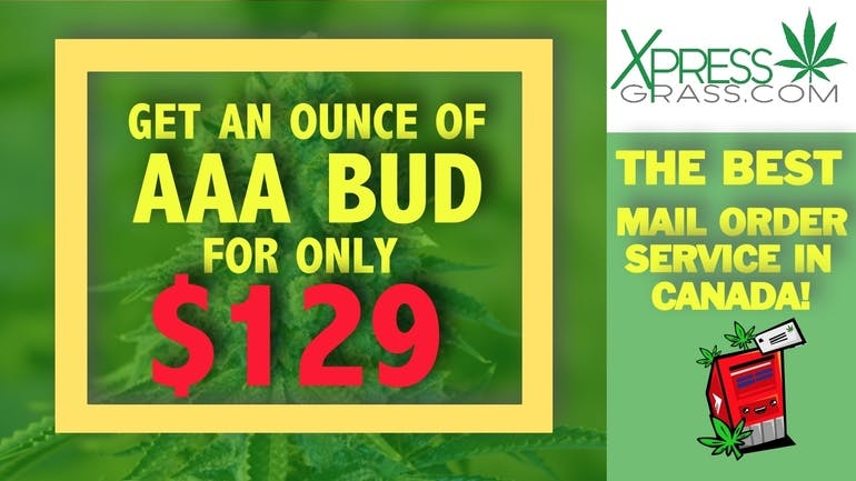 XpressGrass GET AAA BUD FOR ONLY $129 AN OZ