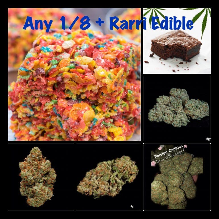 GREEN CROSS DELIVERY Best Deal 1/8 & Edible $44