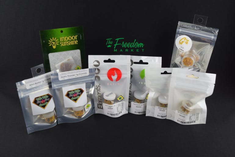 Freedom Market Longview-Recreational Concentrates starting at $10!!