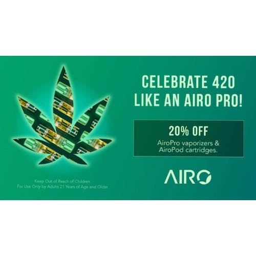EarthMed - Addison AiroPro 420 Specials are Here!