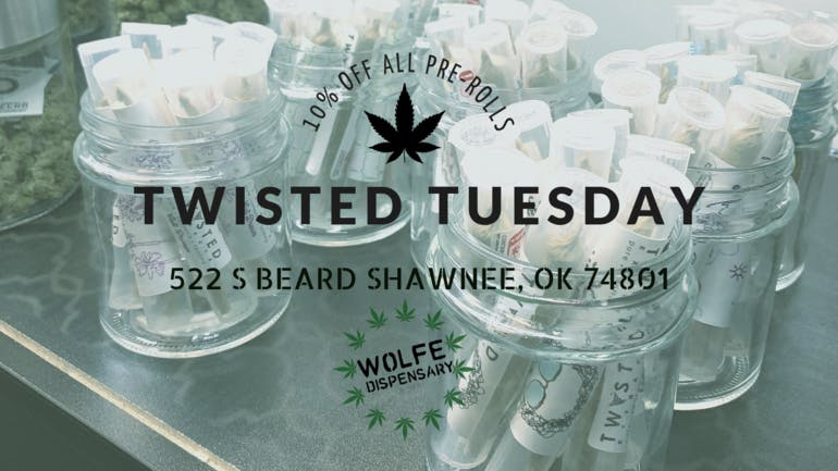 Wolfe Dispensary 10% OFF ALL PRE-ROLLS