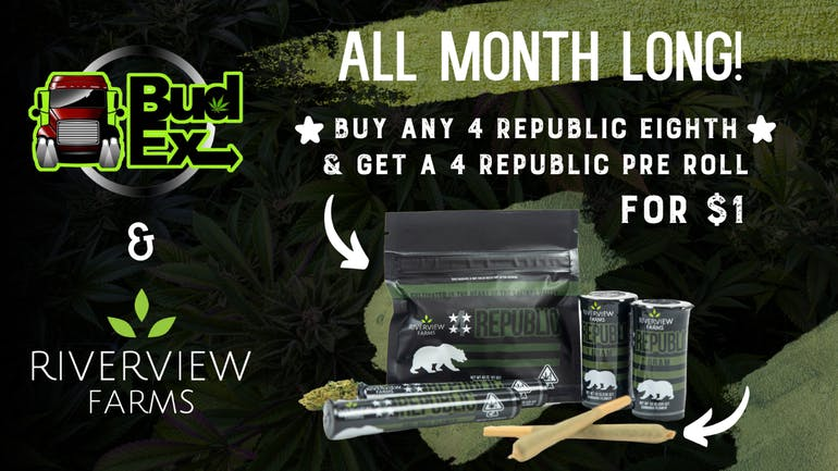 Budex BUY 4REPUBLIC 8TH -GET JOINT@ $1