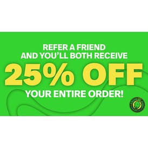 Green Genie 25% OFF WHEN YOU BRING A FRIEND!