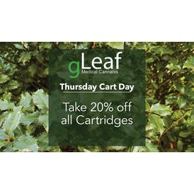 gLeaf Delivery (Saturday Only) Cart Thursday - 20% Off!