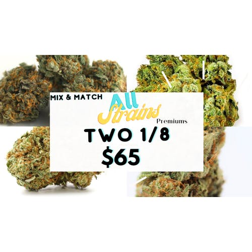 GREEN CROSS DELIVERY Mix & Match All Strains