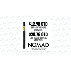 loCAL Supply Nomad Sauce Vapes 50% Off!