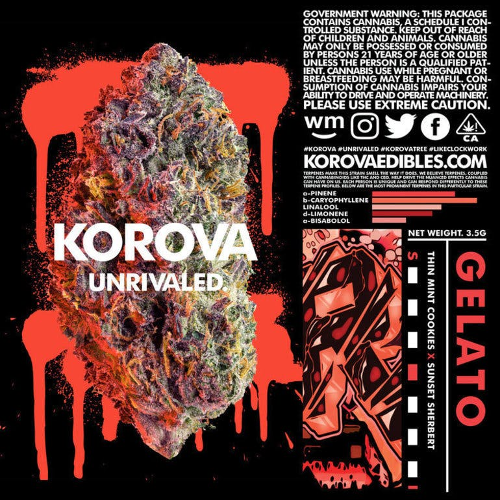 BioMass Gardens Korova 8ths $45