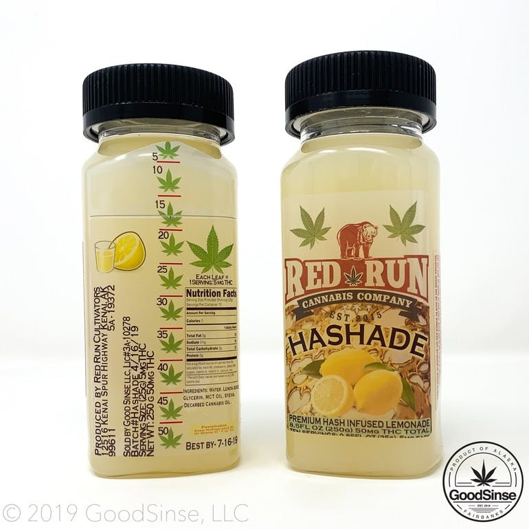 GoodSinse Hashade - Infused Lemonade $20