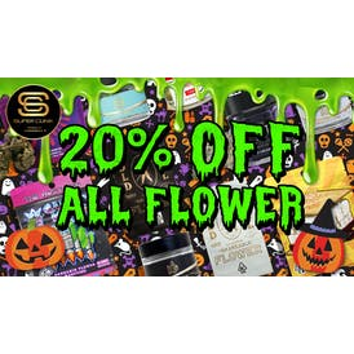 SUPER CLINIK 20% OFF ALL Flower