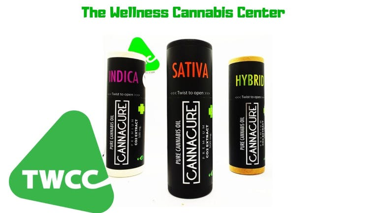 The Wellness Cannabis Center, LLC CannaCure Vape $45.00 c/u