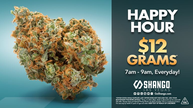 Shango - LAS VEGAS Special Deals & Coupons | Weedmaps