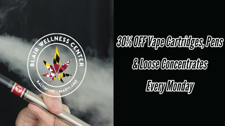 Blair Wellness Center 30% OFF Vape & Concentrate