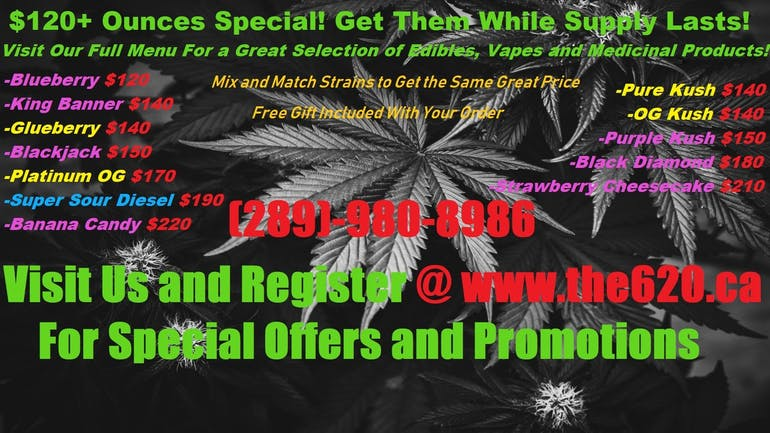 The6ix20 $120+ Ounces Special!