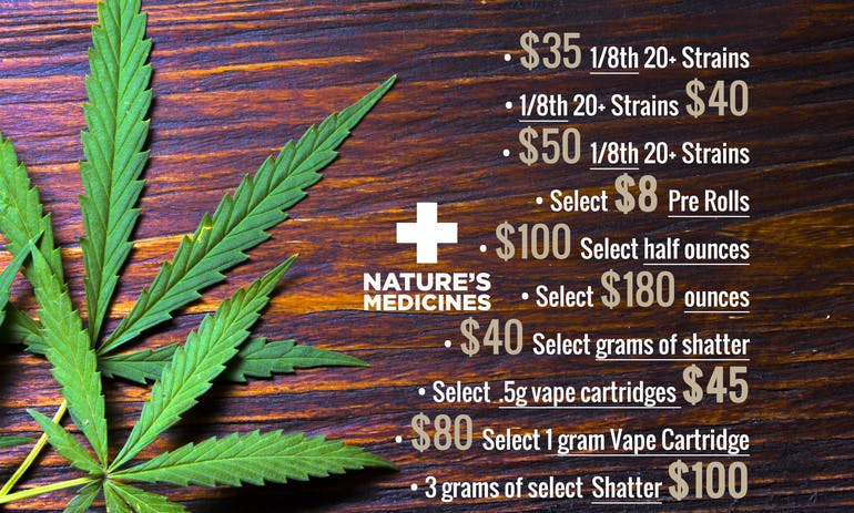 Natures Medicines ALL DEALS