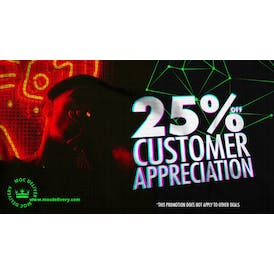 The Members Only Club 25% OFF Customer Appreciation