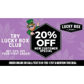 Lucky Box Club 20% OFF NEW CUSTOMER SPECIAL
