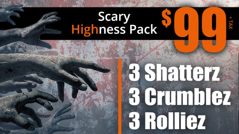 Smoakland - Lafayette $99 SCARY HIGHNESS PACK