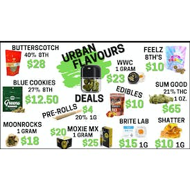 Urban Flavours Delivery - Antioch ⛽ FRESH DROP $10 8TH'S