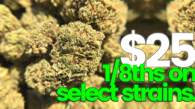 The Cannabis Refinery $25 1/8th's on select strains