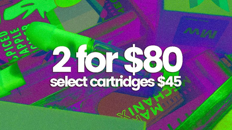 The Cannabis Refinery Select Cartridges $45, 2 for $80