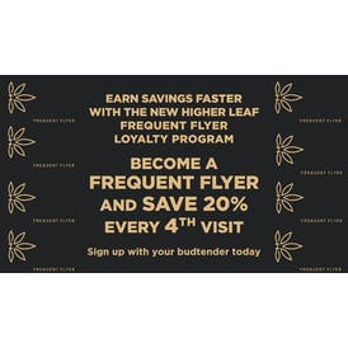 Higher Leaf Bellevue SAVE 20% EVERY 4TH VISIT!