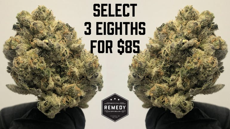 Remedy Columbia Select 3 8ths for $85!