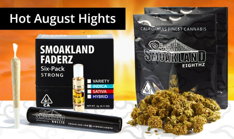 Smoakland - Modesto $99+ TAX HOT AUGUST HIGHTS
