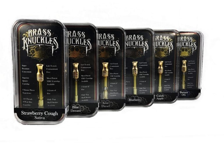 420 King Delivery Brass Knuckles Cartridges $45!!