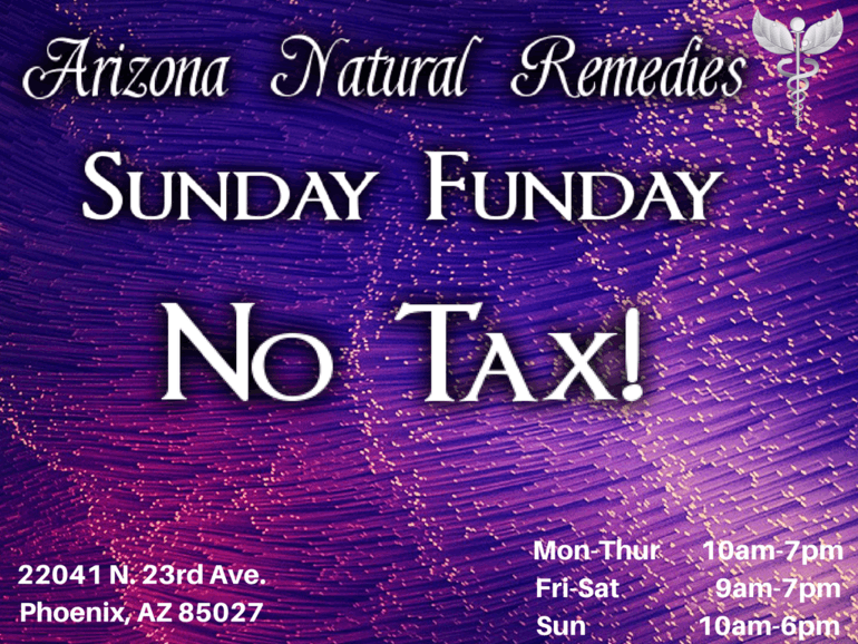 Arizona Natural Remedies Sunday Funday!