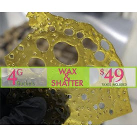 The Farmers Market - NEW LOCATION 4g for $49- Wax or Shatter