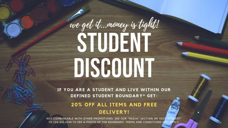 WeCare Collective STUDENT DISCOUNT - LEARN MORE