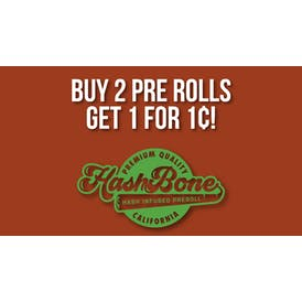 Grasshopper Delivery Buy 2 Hashbone's Get 1 For 1¢!