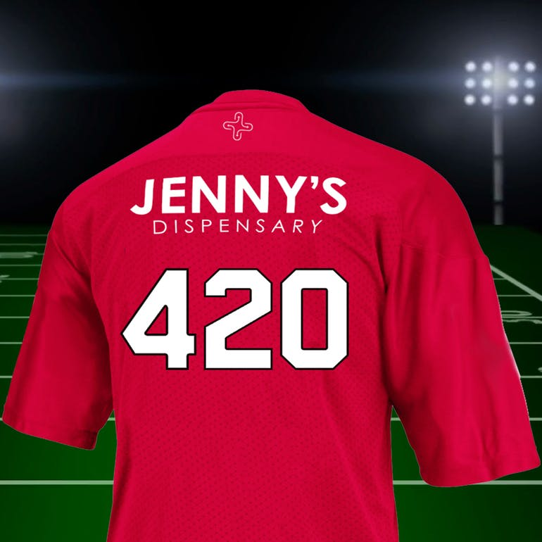 Jenny's Dispensary - North Las Vegas 15% OFF WITH SPORTS JERSEY