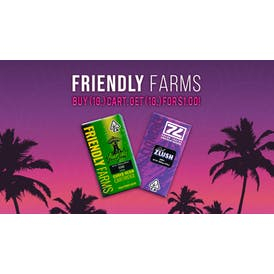 Tropicanna Dispensary and Weed Delivery FRIENDLY FARMS BOGO