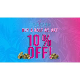 Tropicanna Dispensary and Weed Delivery 10% OFF FLOWER SPECIAL!!
