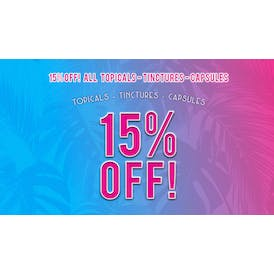 Tropicanna Dispensary and Weed Delivery 15% OFF WELLNESS PRODUCTS!!