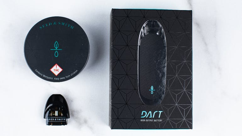 Seed & Smith Cannabis Dart Pods 2 for $70 w/battery