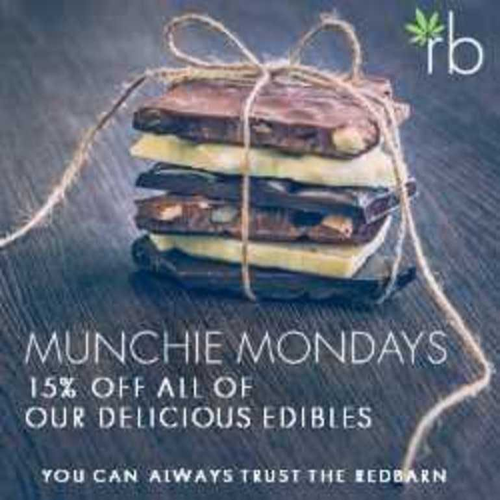 Redbarn Dispensary Munchie Monday